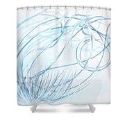Forward Motion Shower Curtain