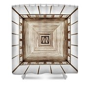 Forward Or Up Shower Curtain