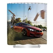 Forza Horizon 3 Shower Curtain