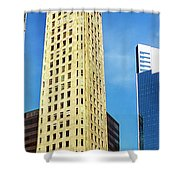 Foshay Tower From The Street Shower Curtain