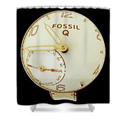 Fossil Q 7 Shower Curtain