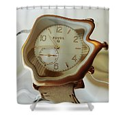 Fossil Q Shower Curtain