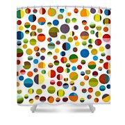 Found My Marbles 3.0 Shower Curtain