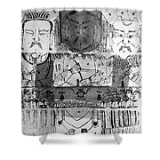 Founders Of Chinese Medicine, 5000�4500 Shower Curtain