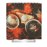 Foundry Formations Shower Curtain