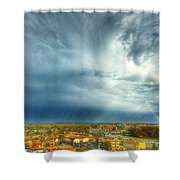 Founds Clouds Shower Curtain