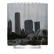 Fountain 2 Shower Curtain