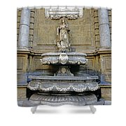 Fountain At Quattro Canti In Palermo Sicily Shower Curtain