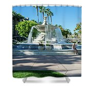 Fountain At Rio Vista Shower Curtain