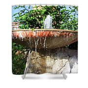 Fountain At Taliesen Shower Curtain