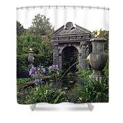 Fountain Garden Shower Curtain