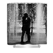 Fountain Love Shower Curtain