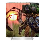 Fountain Of Life Shower Curtain