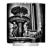 Fountain Of Wealth Shower Curtain