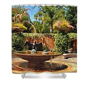 Fountain Of Zoo 2 Shower Curtain