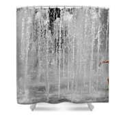 Fountain Play One Shower Curtain