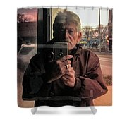 Fountain Square Theater Shower Curtain