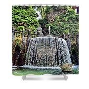 Fountains.  Tivoli. Shower Curtain