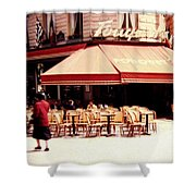 Fouquets Of Paris 1955 Shower Curtain
