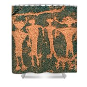 Four Anasazi Shower Curtain