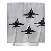 Four Angels Shower Curtain