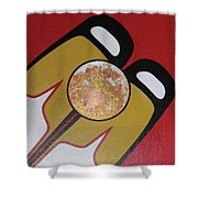 Four Corners - Haida Shower Curtain