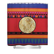 Four Corners - Seminole Shower Curtain