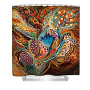 Four Elements IIi. Earth Shower Curtain