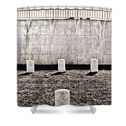 Four Harrows Shower Curtain