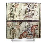 Four Horsemen, 1250 Shower Curtain