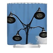 Four Lamps Shower Curtain