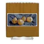 Four Pears Shower Curtain