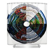 Four Seasons - Day And Night Shower Curtain