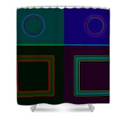 Four Square Shower Curtain