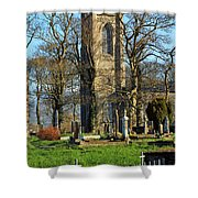 Four Steeples Shower Curtain