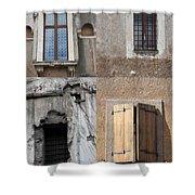 Four Windows Shower Curtain