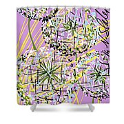 Four Wishes Shower Curtain