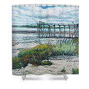 I'le Madame Fouras La Rochelle France 2016 Shower Curtain