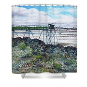 Fouras Village La Rochelle France 2016 Shower Curtain