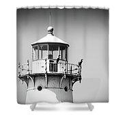 Fourteen Foot Shoal Lighthouse Shower Curtain
