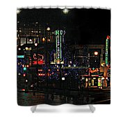 Fourteenth And Main Shower Curtain
