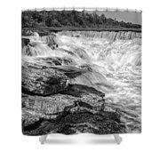 Fourth Chute Falls Shower Curtain