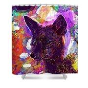 Fox Animal Tuscany  Shower Curtain
