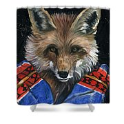 Fox Medicine Shower Curtain
