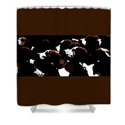 Foxhounds At Dawn Shower Curtain