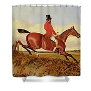 Foxhunting - Clearing A Bank Shower Curtain