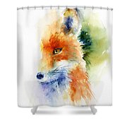 Foxy Impression Shower Curtain