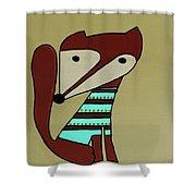 Foxy Moxy Shower Curtain