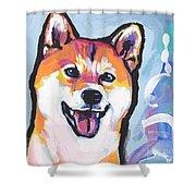 Foxy Shiba Shower Curtain