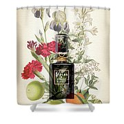 Fracas Notes 1 - By Diana Van Shower Curtain